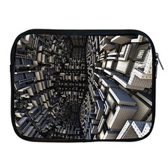 Fractal Art Pattern Apple Ipad 2/3/4 Zipper Cases