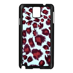 Jaguar Textile Background Samsung Galaxy Note 3 N9005 Case (black) by AnjaniArt