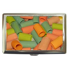 Macaroni Rigatoni Rotini Lasagna Corkscrew Cigarette Money Cases by AnjaniArt