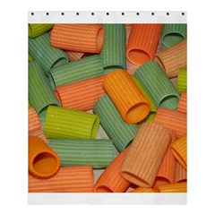 Macaroni Rigatoni Rotini Lasagna Corkscrew Shower Curtain 60  X 72  (medium)  by AnjaniArt