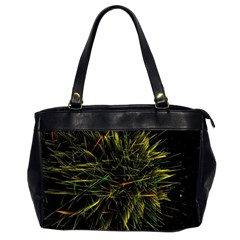 Magic Art Particle Texture Office Handbags (2 Sides)  by AnjaniArt