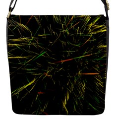 Magic Art Particle Texture Flap Messenger Bag (s) by AnjaniArt