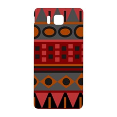 Red Aztec Samsung Galaxy Alpha Hardshell Back Case