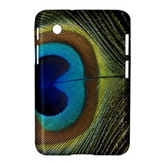 Single Peacock Samsung Galaxy Tab 2 (7 ) P3100 Hardshell Case  by AnjaniArt