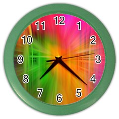 Texture Background Color Wall Clocks
