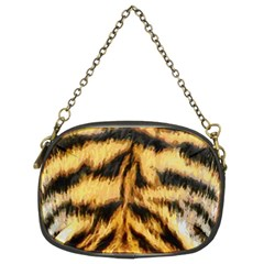 Tiger Fur Painting Chain Purses (two Sides)  by AnjaniArt
