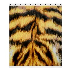 Tiger Fur Painting Shower Curtain 60  X 72  (medium)  by AnjaniArt