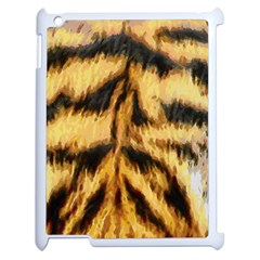 Tiger Fur Painting Apple Ipad 2 Case (white)