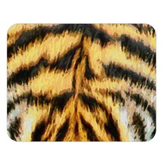 Tiger Fur Painting Double Sided Flano Blanket (large)