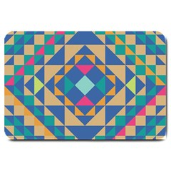 Tiling Pattern Large Doormat  by AnjaniArt