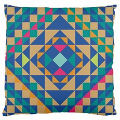 Tiling Pattern Large Cushion Case (two Sides)