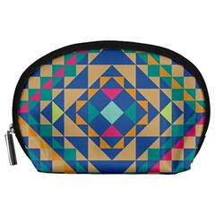 Tiling Pattern Accessory Pouches (large)