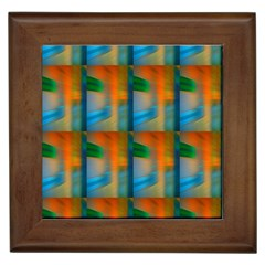 Wall Of Colour Duplication Framed Tiles by AnjaniArt