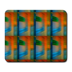 Wall Of Colour Duplication Large Mousepads