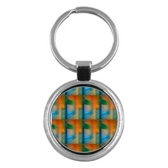 Wall Of Colour Duplication Key Chains (round)  by AnjaniArt