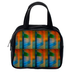 Wall Of Colour Duplication Classic Handbags (one Side)