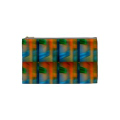Wall Of Colour Duplication Cosmetic Bag (small)