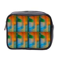 Wall Of Colour Duplication Mini Toiletries Bag 2 Side by AnjaniArt
