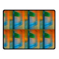 Wall Of Colour Duplication Fleece Blanket (small)