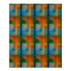 Wall Of Colour Duplication Shower Curtain 60  X 72  (medium)  by AnjaniArt
