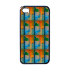Wall Of Colour Duplication Apple Iphone 4 Case (black)