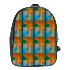 Wall Of Colour Duplication School Bags (xl)
