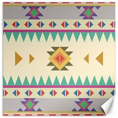 Your First Aztec Pattern Canvas 12  X 12