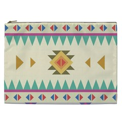 Your First Aztec Pattern Cosmetic Bag (xxl)