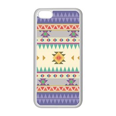 Your First Aztec Pattern Apple Iphone 5c Seamless Case (white)