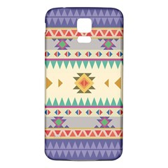 Your First Aztec Pattern Samsung Galaxy S5 Back Case (white)