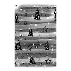 Gray Xmas Magic Shower Curtain 48  X 72  (small)  by Valentinaart
