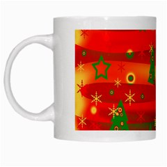 Xmas Magic White Mugs by Valentinaart