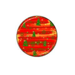 Xmas Magic Hat Clip Ball Marker (4 Pack) by Valentinaart