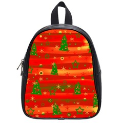 Xmas Magic School Bags (small)  by Valentinaart