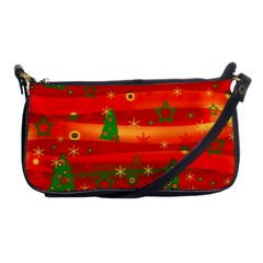 Xmas Magic Shoulder Clutch Bags by Valentinaart