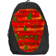 Xmas Magic Backpack Bag by Valentinaart