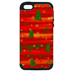 Xmas Magic Apple Iphone 5 Hardshell Case (pc+silicone) by Valentinaart