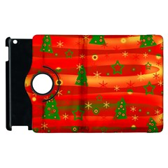Xmas Magic Apple Ipad 2 Flip 360 Case by Valentinaart