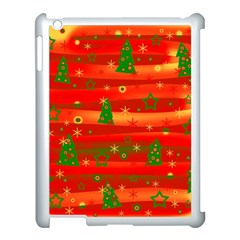 Xmas Magic Apple Ipad 3/4 Case (white) by Valentinaart