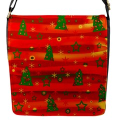 Xmas Magic Flap Messenger Bag (s) by Valentinaart