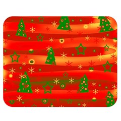 Xmas Magic Double Sided Flano Blanket (medium)  by Valentinaart