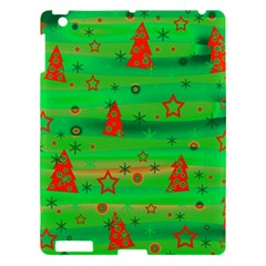 Green Xmas Magic Apple Ipad 3/4 Hardshell Case by Valentinaart