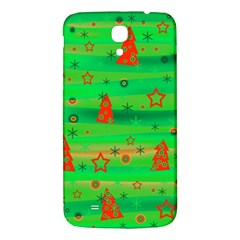 Green Xmas Magic Samsung Galaxy Mega I9200 Hardshell Back Case by Valentinaart