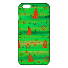 Green Xmas Magic Iphone 6 Plus/6s Plus Tpu Case by Valentinaart