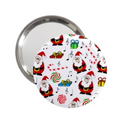 Xmas Song 2 25  Handbag Mirrors by Valentinaart
