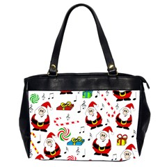 Xmas Song Office Handbags (2 Sides)  by Valentinaart