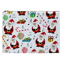 Xmas Song Cosmetic Bag (xxl)  by Valentinaart