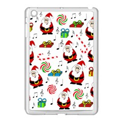 Xmas Song Apple Ipad Mini Case (white) by Valentinaart