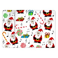 Xmas Song Samsung Galaxy Tab 10 1  P7500 Flip Case by Valentinaart