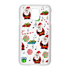 Xmas Song Samsung Galaxy S5 Case (white)
